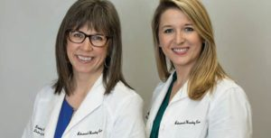 Dr. Kimberly Combs and Dr. Juliette Gassert of Advanced Hearing Care