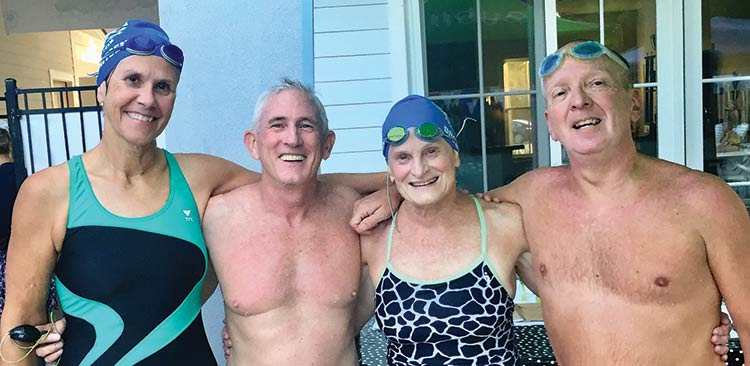 A Palmetto Masters relay team.