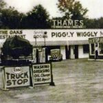 Historic Mount Pleasant SC photo - Esso, The Oaks Restaurant, Piggly WigglyThames Service Station