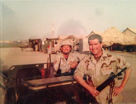 Bill Walsh in Kandahar, Afghanistan circa January 2002