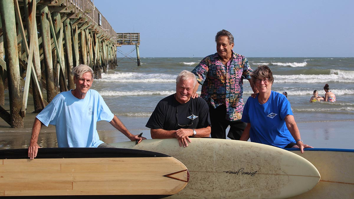 The Carolina Coast Surf Club is believed to be the nation's oldest active surf club.